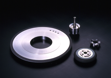 Vitrified Bond CBN Wheels : for grooving & forming