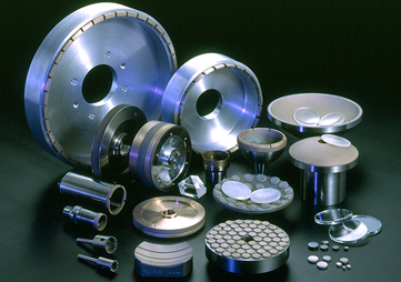 Diamond Wheels : for precision grinding of optical Glass