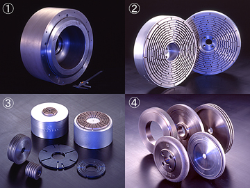 Diamond Wheels : for magnetic materials