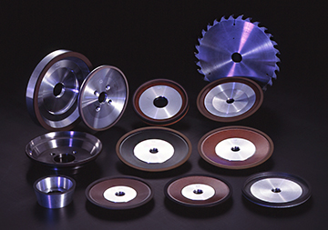 Diamond Wheels : for grinding & forming of cutters