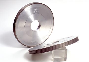 Diamond Wheels : for edging thin sheet glass