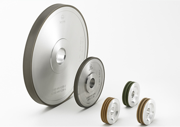 Diamond Wheels (Edge Grinding & Notch Grinding : for silicon wafers)