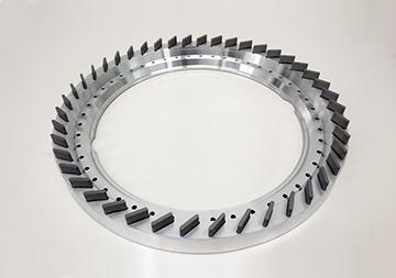 難削材対応 高能率メタルボンド「サンクレア」